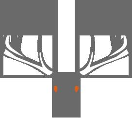 Northern Giants Whitetail Trophy Ranch, Whitetail Hunting Saskatchewan Canada Logo